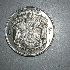 Monedas antiguas de Europa: BÉLGICA 10 FRANCOS 1973 BELGIQUE (1744). Lote 128631783