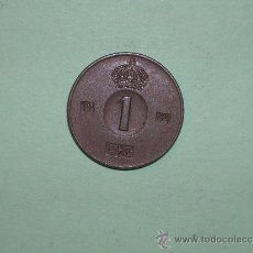 Monedas antiguas de Europa: SUECIA 1 ORE 1954 (3452). Lote 128631848