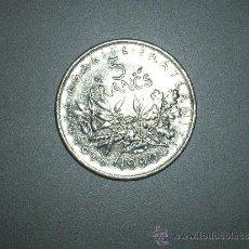 Monedas antiguas de Europa: FRANCIA 5 FRANCOS 1990 (2636). Lote 36098557