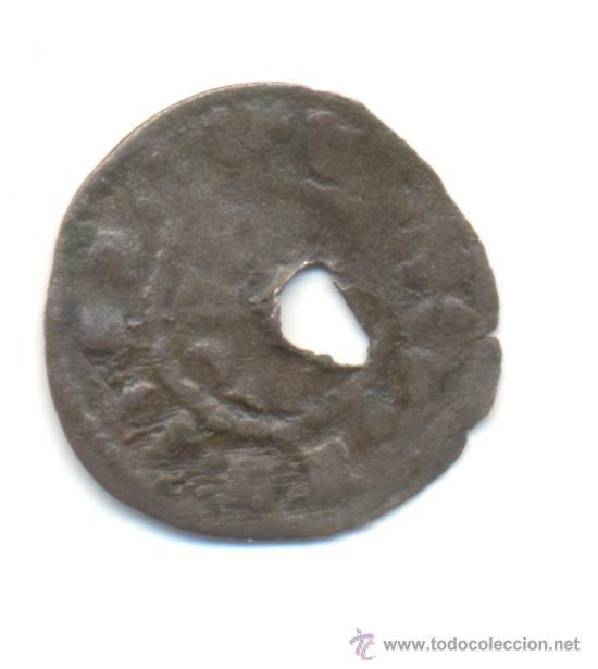 Monedas antiguas de Europa: RARO DINERO DE PORTUGAL A CLASIFICAR FALSO DE ÉPOCA ?? AGUJERO TAL VEZ PARA DESMONETIZARLO - Foto 2 - 36813034