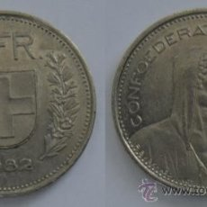 Monedas antiguas de Europa: SUIZA. 5 FRANCOS DE 1982. Lote 36839825
