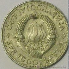 Monedas antiguas de Europa: YUGOSLAVIA 1981- 10 DINARA. Lote 36920846