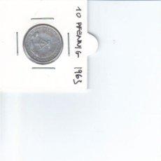 Monedas antiguas de Europa: DDR ALEMANIA DEMOCRATICA 10 PFENNIG 1963. Lote 37265106