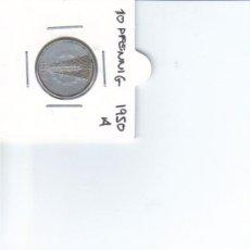 Monedas antiguas de Europa: DDR ALEMANIA DEMOCRATICA 10 PFENNIG 1950 A. Lote 37265178