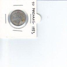 Monedas antiguas de Europa: DDR ALEMANIA DEMOCRATICA 10 PFENNIG 1983. Lote 37265211