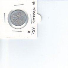 Monedas antiguas de Europa: DDR ALEMANIA DEMOCRATICA 10 PFENNIG 1952 A. Lote 37266025