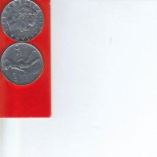 Alte Münzen aus Europa - ITALIA 50 LIRAS LIRE 1955 - 37281653