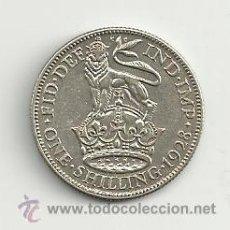 Monedas antiguas de Europa: VENDO MONEDA ONE SHILLING REINO UNIDO 1928. Lote 37459149