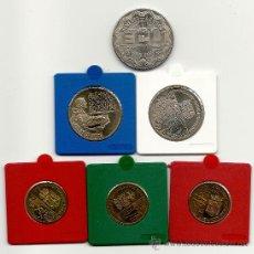 Monedas antiguas de Europa: LOTE DE MONEDAS HOLANDA ECU 1990, SIN CIRCULAR.. Lote 37555585