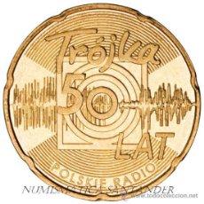 Monnaies anciennes de France: POLONIA 2 ZLOTE 2012 50 AÑOS EMISIÓN DE RADIO POLACA. Lote 222562011