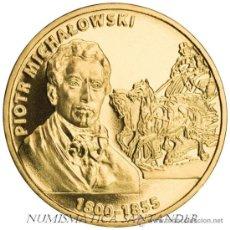 Monnaies anciennes de France: POLONIA 2 ZLOTE 2012 PINTOR PIOTR MICHALOWSKI ( 1800 - 1855 ). Lote 191673295