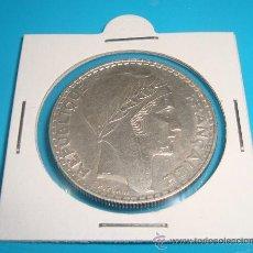 Monedas antiguas de Europa: MONEDA DE PLATA FRANCIA 20 FRANCOS DE PLATA 1938. Lote 38034669