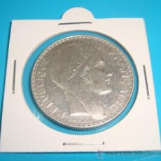 Monnaies anciennes de Europe: MONEDA DE 20 FRANCOS DE PLATA FRANCIA 1933. Lote 38034875