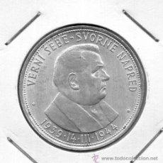 Monedas antiguas de Europa: ESLOVENIA 50 KS. PLATA 1.939 34 MM. MBC. Lote 38208500