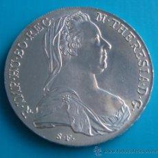 Monedas antiguas de Europa: MONEDA, TALERO DE PLATA, AUSTRIACO DE MARIA THERESA, (REACUÑACIÓN) 1780. Lote 38348404