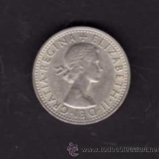 Monedas antiguas de Europa: SIX PENCE DE 1966 - EFIGIE REINA ISABEL II - INGLATERRA. Lote 38364772