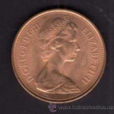 Monedas antiguas de Europa: 2 NEW PENCE DE 1971 - EFIGIE REINA ISABEL II - INGLATERRA. Lote 38364782