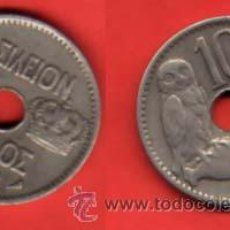 Monedas antiguas de Europa: GRECIA 10 LEPTA 1912. Lote 92480708