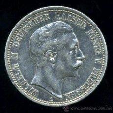 Monedas antiguas de Europa: ALEMANIA (ESTADOS ALEMANES): 2 MARCOS 1905 A PRUSIA (PLATA) . Lote 38478722