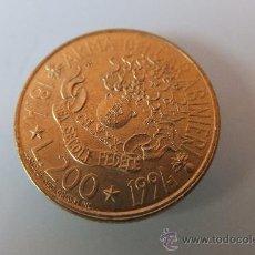 Monedas antiguas de Europa: LIRA ITALIANA - HOMENAJE CARABINIERI Y MAS..... Lote 38644843