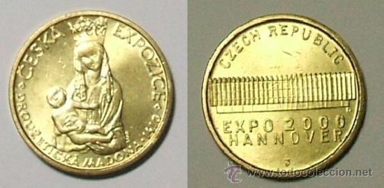 Token Ceska Expozice Drouzeticka Madona 1 Comprar Monedas