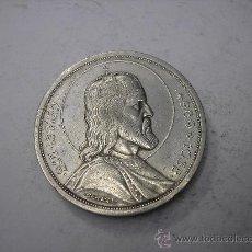 Monedas antiguas de Europa: 5 PENGO DE PLATA DE 1938. HUNGRIA. 9º CENTENARIO DE SAN ESTEBAN. Lote 47183090