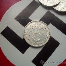 Monedas antiguas de Europa: III REICH: 5 REICHSMARK DE PLATA 1936-E. Lote 38810576
