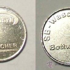 Monedas antiguas de Europa: TOKEN - KÄRCHER - CLEAN PARK - SB-WASCHCENTER - BOTWARTAL.. Lote 38871260