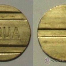 Monedas antiguas de Europa: TOKEN - AQUA.. Lote 38873347