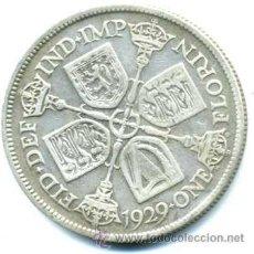 Monedas antiguas de Europa: FLORIN DE GRAN BRETAÑA 1929. Lote 39066520