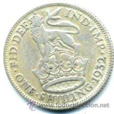 Monedas antiguas de Europa: CHELIN DE GRAN BRETAÑA 1932. Lote 39066530