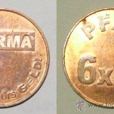 Monedas antiguas de Europa: TOKEN - NORMA · VIELMAHRFÜRS GELD! - PFAND 6X0,25.. Lote 39127578