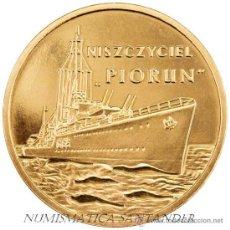 Monnaies anciennes de France: POLONIA 2 ZLOTE 2012 BARCOS POLACOS DESTRUCTOR PIORUN. Lote 230653595