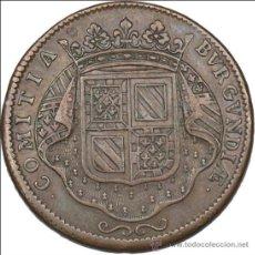 Monedas antiguas de Europa: JETON FRANCES (BORGOÑA) 1715. Lote 39232801