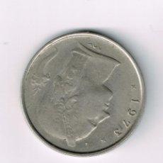 Monedas antiguas de Europa: 1 FRANCO BELGA 1973. Lote 39539559