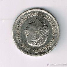 Monedas antiguas de Europa: 25 CENT HOLANDA 1980. Lote 39539610