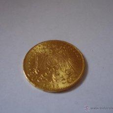 Monedas antiguas de Europa: MONEDA 20 CORONAS DE ORO IMPERIO AUSTRO HUNGARO 1915. Lote 39614121