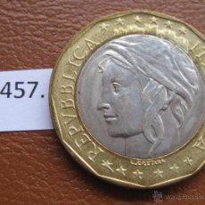Monedas antiguas de Europa: ITALIA 1000 LIRAS 1998 , BIMETALICA. Lote 39660609