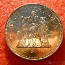 Monedas antiguas de Europa: 50 FRANCOS FRANCESES 1977 PLATA 0.900 30 GRAMOS. Lote 39883710