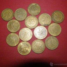 Monedas antiguas de Europa: LOTE 14 DE ALEMANIA, TODAS DIFERENTES FECHAS Y/O CECAS - 10 PEENIC -. Lote 40472285
