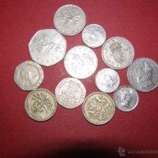 Monedas antiguas de Europa: LOTE DE 12 MONEDAS DIFERENTES INGLATERRA - VER FOTOS -. Lote 40472433