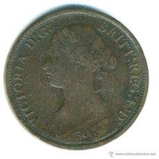 Monedas antiguas de Europa: REINA VICTORIA. FARTHING 1860. Lote 40526907