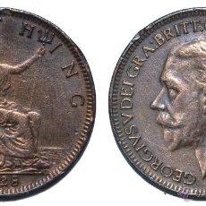 Monedas antiguas de Europa - GRAN BRETAÑA. 1 FARTHING (1/4 DE PENIQUE). JORGE V. 1928. MBC+ - 40925031