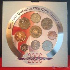 Monedas antiguas de Europa: BRILLIANT UNCIRCULATED COIN COLLECTION, 2000 MILLENNIUM, UNITED KINGDOM. Lote 40963608