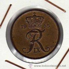 Monedas antiguas de Europa: DINAMARCA : 5 ÖRE 1965 EBC+. Lote 41254144