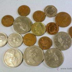 Monedas antiguas de Europa: LOTE DE 17 MONEDAS LIBRA BRITÁNICA. VER DETALLE.. Lote 41258535