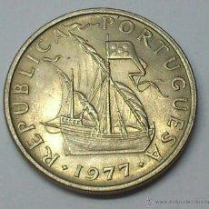 Monedas antiguas de Europa: 5 ESCUDOS. 1977. PORTUGAL. Lote 195250298