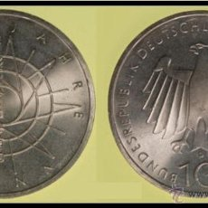 Monedas antiguas de Europa: 10 MARCOS DE PLATA 1989-D - 2000 JAHRE BONN - 2000 AÑOS BONN -. Lote 41402857