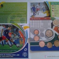 Monedas antiguas de Europa: CARTERA EURO ESLOVAQUIA 2010 BU, MUNDIAL DE SUDAFRICA.. Lote 41500621