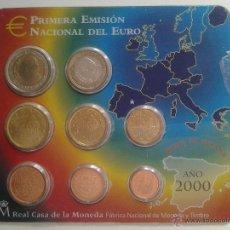 Monedas antiguas de Europa: CARTERA EURO ESPAÑA 2000 BU. Lote 41510037